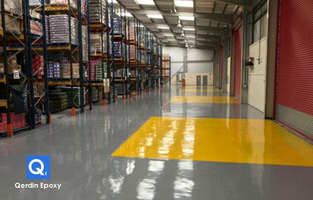 Epoxy Lantai Gudang atau Warehouse